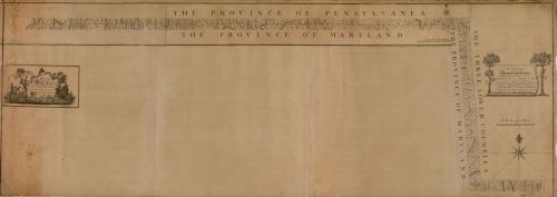 Plan of Mason-Dixon Line, 1768 (Library of Congress).