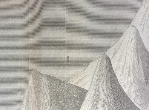 Gay-Lussac's 1804 balloon flight as shown on Thomson and Lizars' A Comparative View.